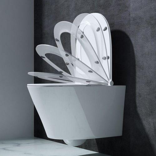 Swiss liniger Misa wc lorena/short z serii rimless
