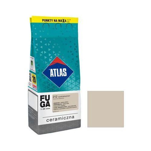 Fuga ceramiczna 212 szarobrązowy 2 kg ATLAS (5905400572858)