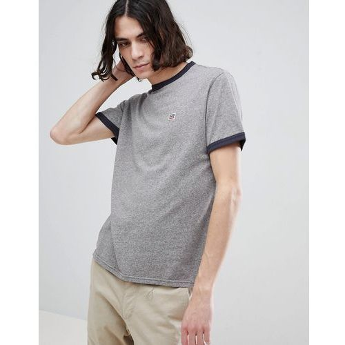 Levis Levi's ringer t-shirt with small sportswear logo grey - grey