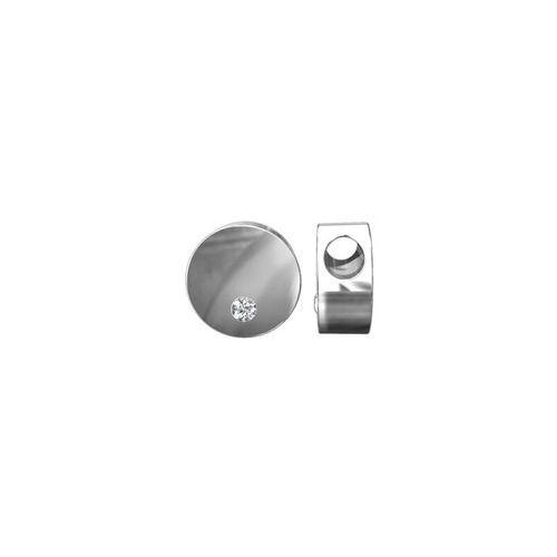 Okrągła zawieszka z kamieniem Swarovskiego, srebro 925 S-CHARM 173 z kategorii Akcesoria do biżuterii