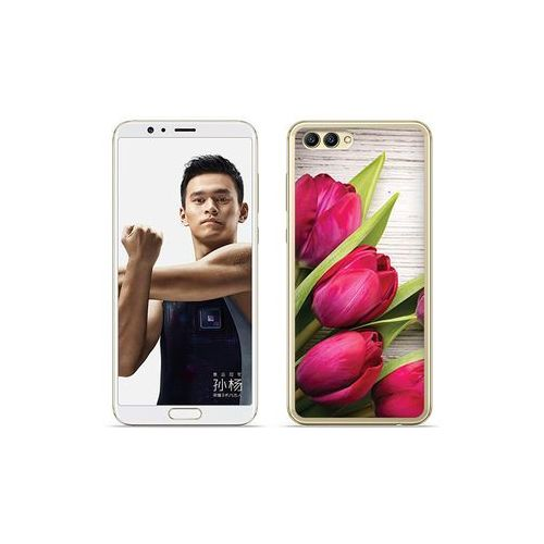 etuo Foto Case - Huawei Nova 2S - etui na telefon Foto Case - czerwone tulipany