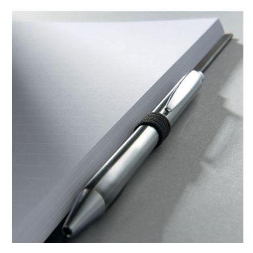 Notatnik NOTIZO A5 w linię w plastikowej oprawie 80 kartek, szary (4004182470183)
