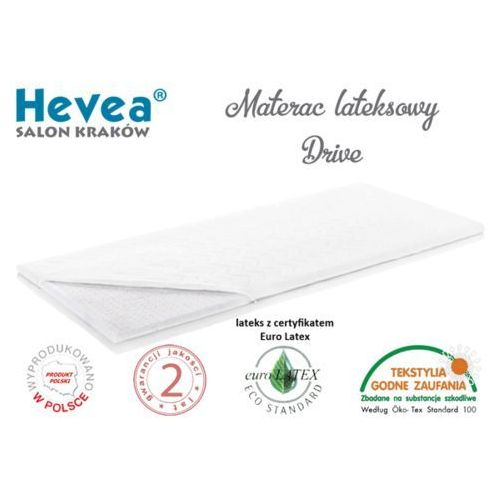 OKAZJA - Hevea Materac lateksowy drive 120x60