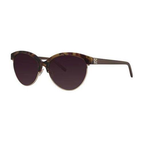 Vera wang Okulary słoneczne letti red tortoise