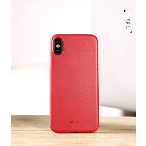 Etui Benks Lollipop iPhone X Solid Red (6948005941437)