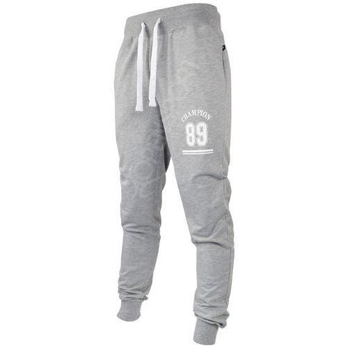 Outhorn Męskie spodnie dresowe hol17 spmd606 jasny szary melanż xxl
