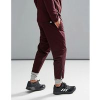 Adidas athletics storm joggers with cuff detailing in purple bs4845 - red