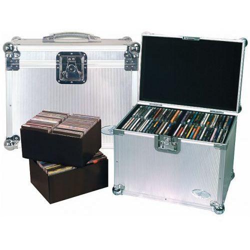 rc-27341-a flight case - dj case for 120 cds, futerał na płyty cd- 120 szt marki Rockcase