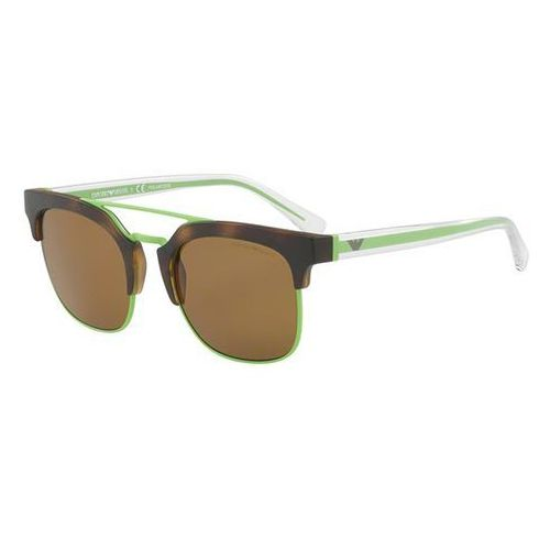 Okulary Słoneczne Emporio Armani EA4093 Polarized 508983, kolor żółty