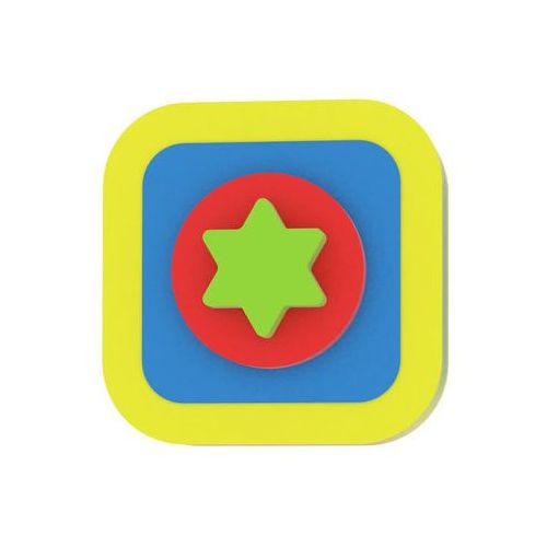 Moje první puzzle - tvary čtverec/hvězda žlutá marki Neuveden