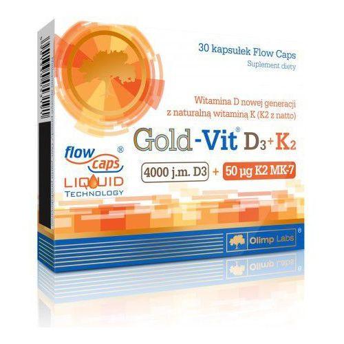Gold-Vit® D3 + K2 30 kapsułek Olimp - produkt farmaceutyczny