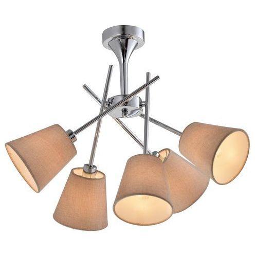 Candellux vox 35-70630 plafon lampa sufitowa 5x40w e14 chrom (5906714870630)