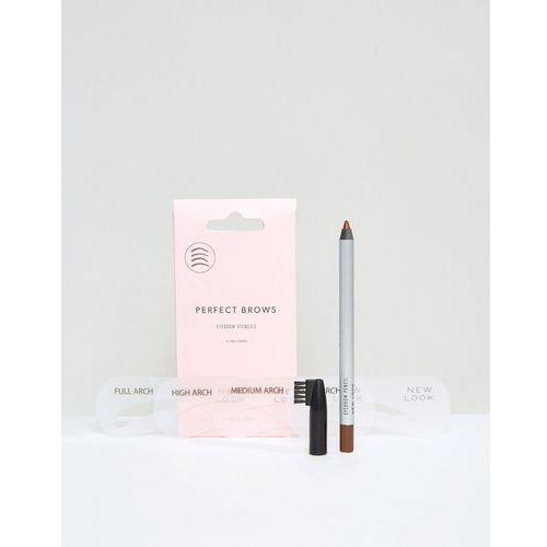 New Look 4 Pack Eyebrow Stencil and Pencil Kit - Multi, kup u jednego z partnerów
