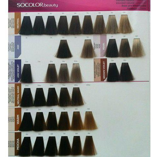 Matrix socolor beauty pielęgnująca farba do włosów odcień 5bc (light brown brown copper) 90 ml