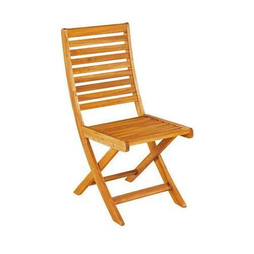Naterial Krzesło ogrodowe drewniane porto składane (3276000262282)