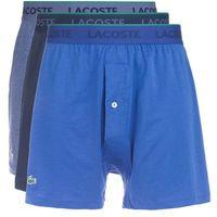 Lacoste 3 pack bokserki dark blue/blue/bluegrey