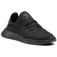 Buty - deerupt runner j b41877 cblack/cblack/ftwwht marki Adidas