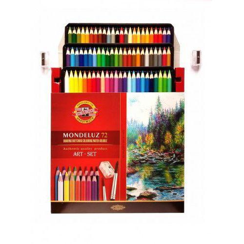 Kredki akwarelowe 72 kolory mondeluz marki Koh-i-noor