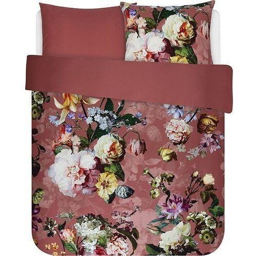 Pościel fleur ciemnoróżowa 200 x 220 cm z 2 poszewkami na poduszki 60 x 70 cm marki Essenza