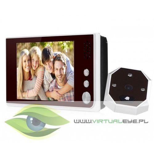 """Wideo wizjer lcd 3.5"""" zdjęcia dzwonek judasz marki Virtualeye"""