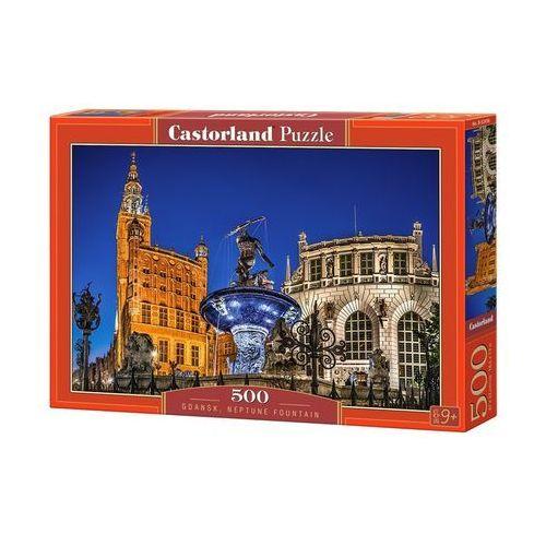 Puzzle 500 gdańsk neptune fountain - od 24,99zł darmowa dostawa kiosk ruchu marki Castor