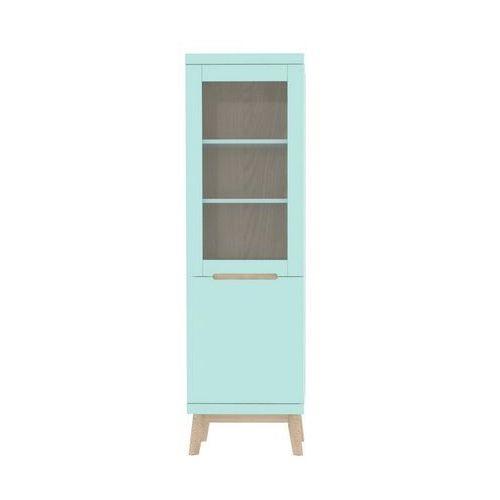 Witryna Jazz3 42x54 cm, miętowa/zielona matowa, jesion 91762-3 - OTL