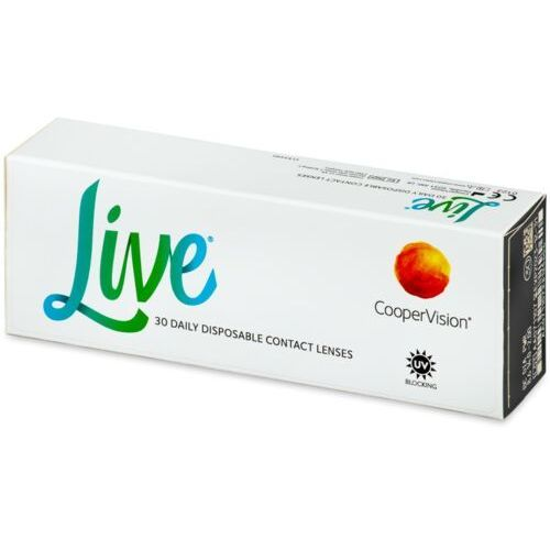 Coopervision Live daily disposable (30 soczewek) (5052966000322)