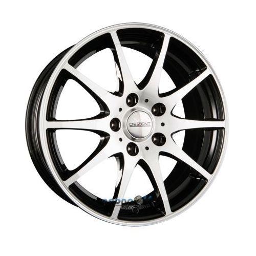 ti dark - black polished front einteilig 7.00 x 17 et 40 marki Dezent
