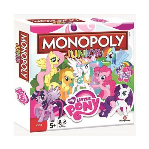 Hasbro My little pony. monopoly junior - winning moves. darmowa dostawa do kiosku ruchu od 24,99zł