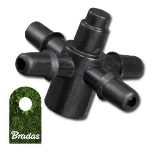 Czwórnik do emiterów i kroplowników patykowych wejście 4mm 1635 marki Bradas
