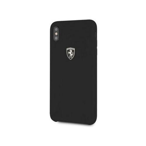 Ferrari Hardcase FEOSIHCI65BK iPhone Xs Max czarny/black Silicone Off track, 51578 (12225235)