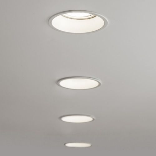 Minima Round Fixed Fire Rated 5741 biały Astro, 5741