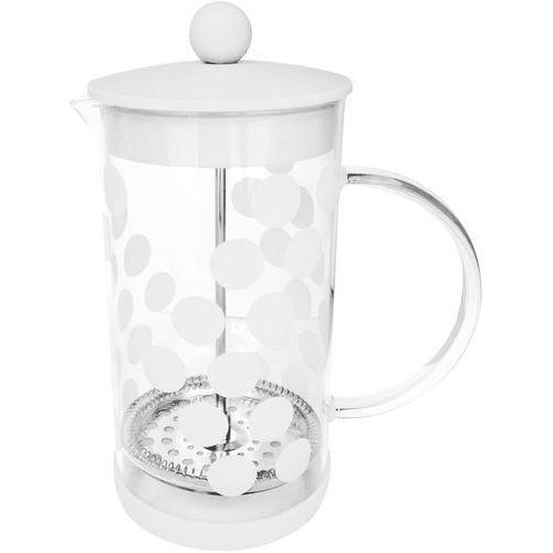Kawiarka french press dot dot 1 litr  biała marki Zak! designs