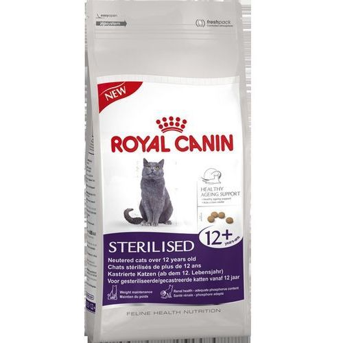 Royal canin sterilised 12+ - 2 x 4 kg (3182550805407)