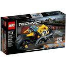 technic kaskaderski motocykl marki Lego