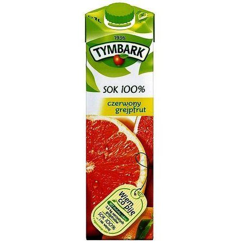 Sok czerwony grejpfrut 100% 1l marki Tymbark