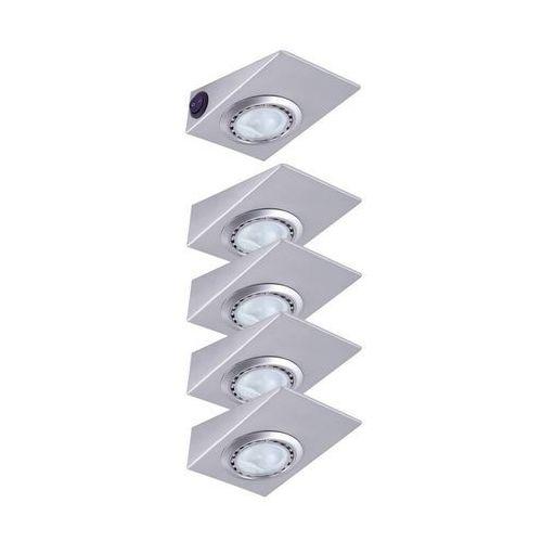 Paulmann 3506 - zestaw 5x oświetlenie blatu kuchennego 5xg4/20w/12v (4000870035061)