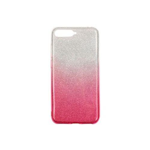Huawei Y6 (2018) - etui na telefon Forcell Shining - różowe ombre