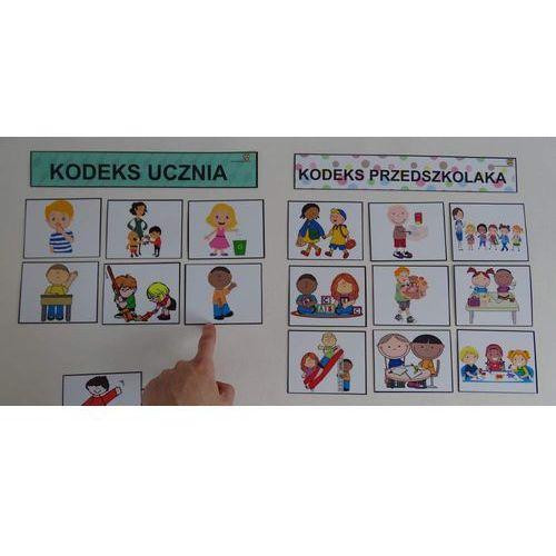 Kodeks przedszkolaka - obrazki dla dzieci młodszych marki Bystra sowa