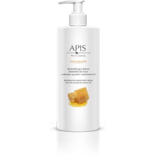 APIS Sweet Honey Body Regenerujące Serum Z Mleczkiem Pszczelim I Witaminami A+E 500ml, 41242