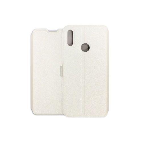 Etuo wallet book Huawei y7 prime (2019) - etui na telefon wallet book - biały