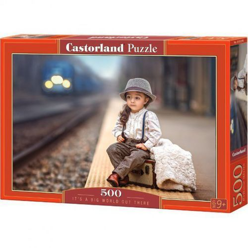 Puzzle It's a Big World Out There 500