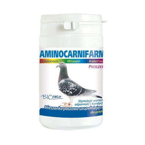 BIOFAKTOR Aminocarnifarm - preparat witaminowy dla gołębi 200g z kategorii Pokarmy dla ptaków