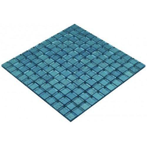Goccia color line mozaika szklana niebieska, 30x30 cm cls1604 marki Goccia mosaico