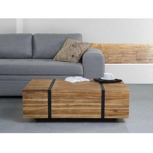 Stolik kawowy - ława - kawowa - stół - drewniany - GANDER