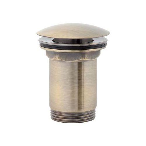 Korek click-clack cylindryczny A706B Omnires brąz antyczny (5908223781612)