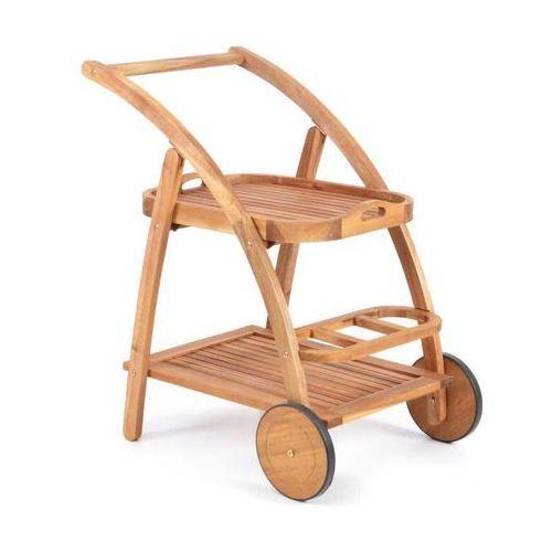 Hecht s trolley stolik wózek ogrodowy do serwowania dań meble ogrodowe akacja - ewimax oficjalny dystrybutor - autoryzowany dealer hecht marki Hecht czechy