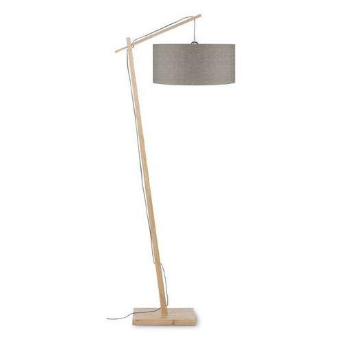 ANDES-Lampa podlogowa Bambus & Len Naturalny Wys.176cm (8716248078689)