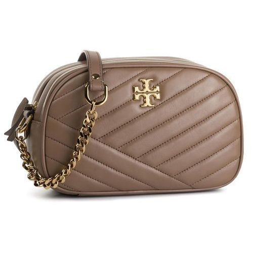 Torebka TORY BURCH - Kira Chevron Camera Bag 60236 Classic Taupe 250