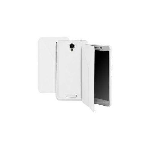 Pokrowiec na telefon  dla lenovo a5000 (gogcasea5000w) białe marki Gogen